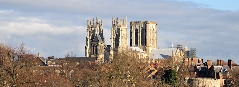 York Minster from EFT gathering hotel